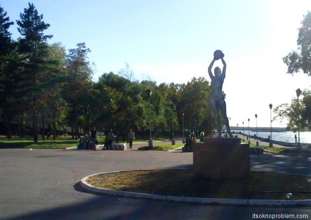 Летом в Хабаровске. Фото