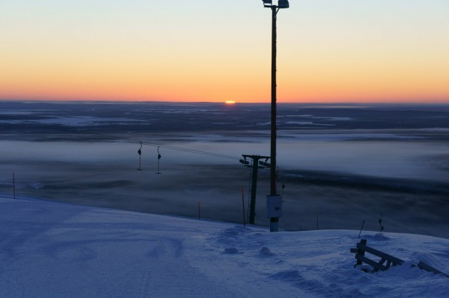 Солнце в полярную ночь. Навстречу зиме! К снегам в Альпы и в Финляндию