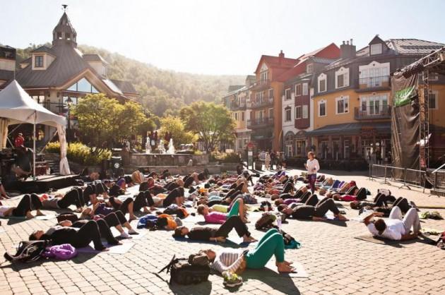 Фестиваль музыки и йоги Wanderlust