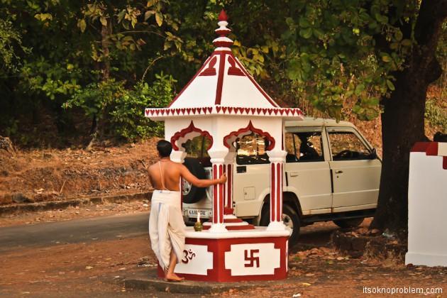 Shri Mallikarjuna Temple. На скутере в Южном Гоа
