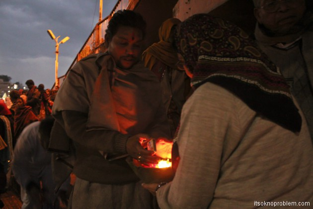 Церемония Ганга Аарти в Харидваре