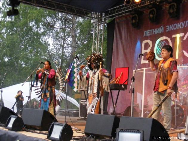 Экокультурный фестиваль ВОТЭТНО в Горном Алтае