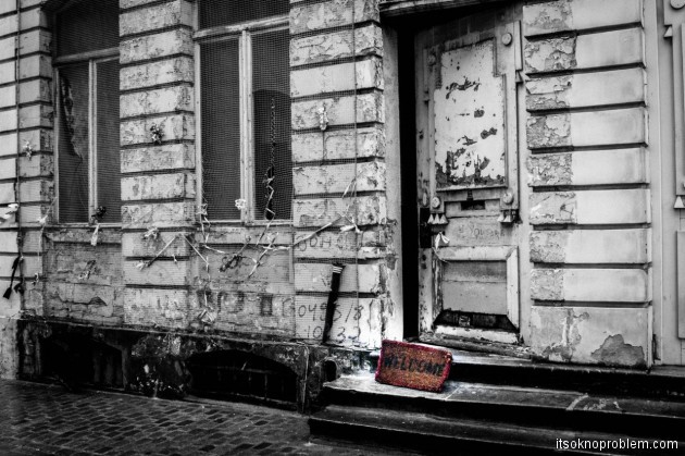 Зачем ехать в Бельгию? или Записки представителя пятой волны эмиграции. Заброшенный дом. Брюссель