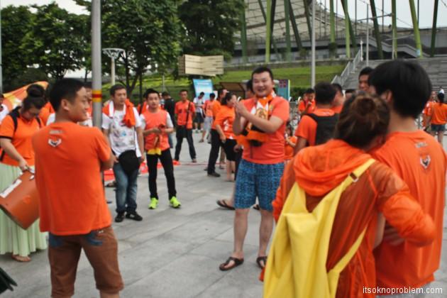 Футбол в Китае. Первая встреча с китайскими ультрас