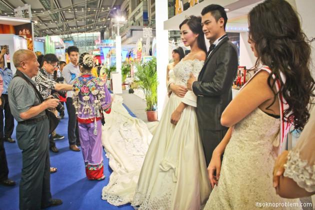 Свадьба в Китае. Западный стиль