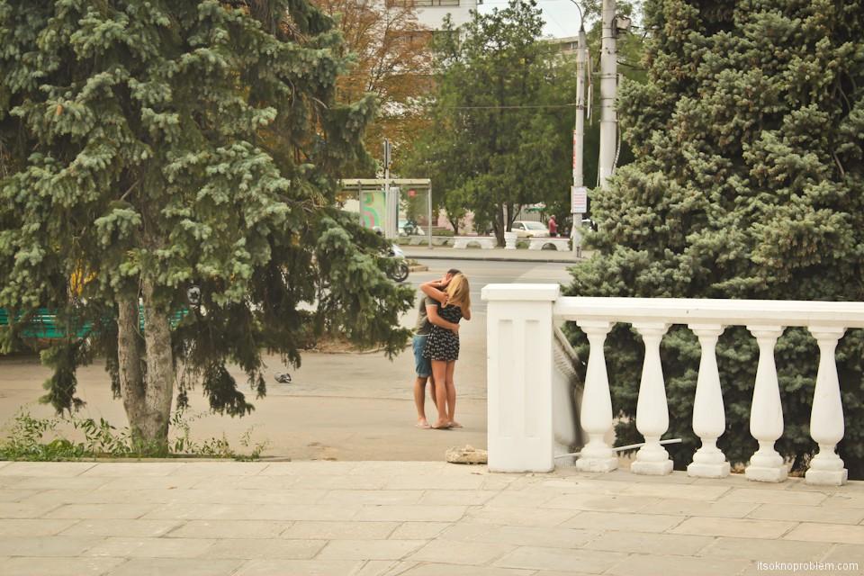 Прогулка по городу Севастополь - город любви