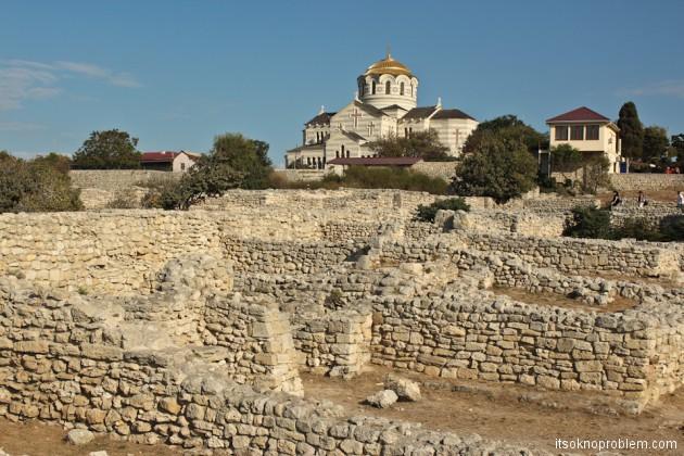Херсонес Таврический фото. Прикоснуться к древнему Севастополю