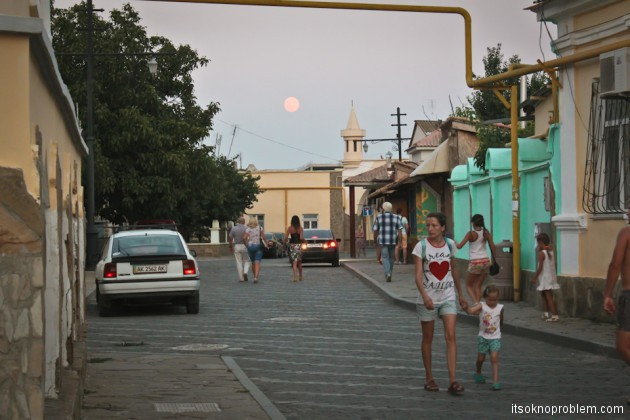 Суперлуние в Крыму в 2014 году