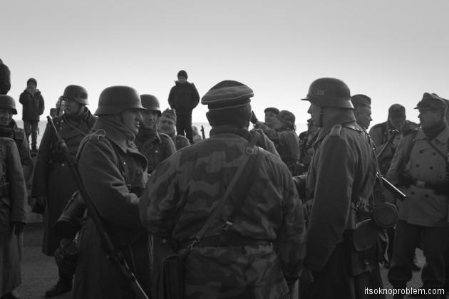 Высадка десанта в Евпатории. Реконструкция