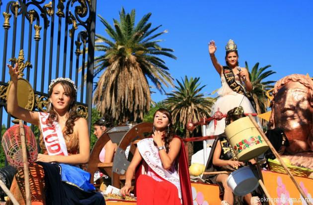 Вендимия - фестиваль сбора винограда в Мендосе, Аргентина