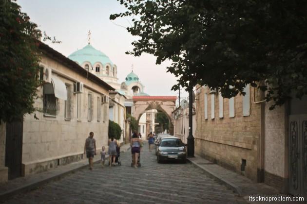 Евпатория. Слободка и старый город