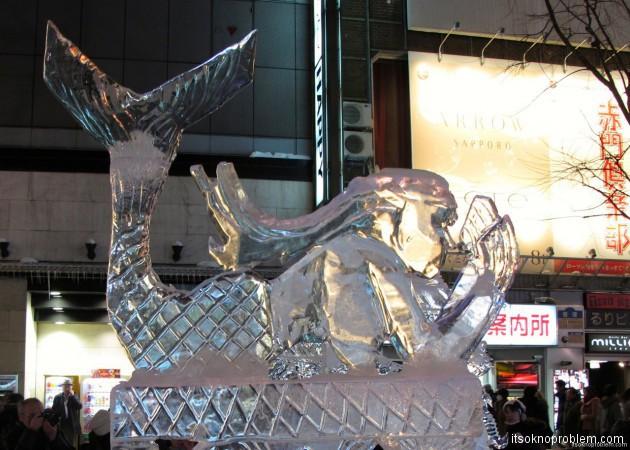 снежный фестиваль в саппоро япония