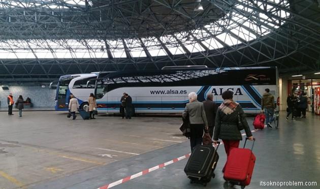 По Испании на автобусе
