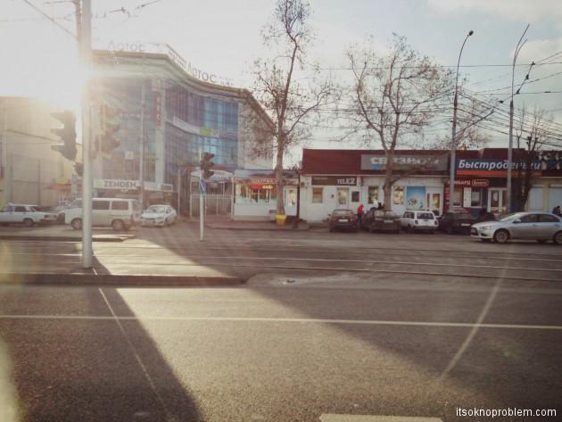 Краснодарские. Трамвайная и пешая прогулка по городу